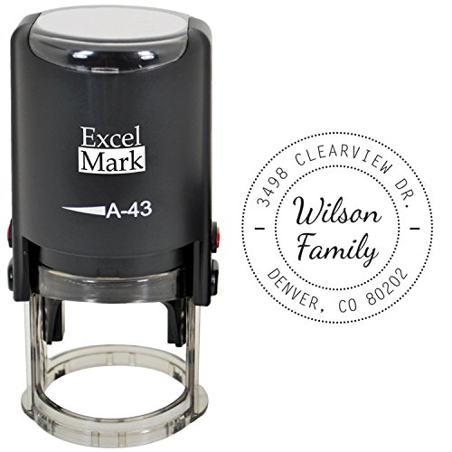 Self Inking Address Stamp - ExcelMark Style 321
