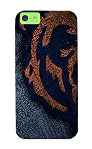 BHeTSp-378-BrJUX Guidepostee Awesome Case Cover Compatible With Iphone 5c - Chicago Bears Nfl Football Js