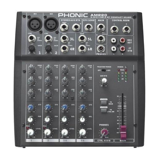 - Phonic Mixer - Unpowered (AM220)