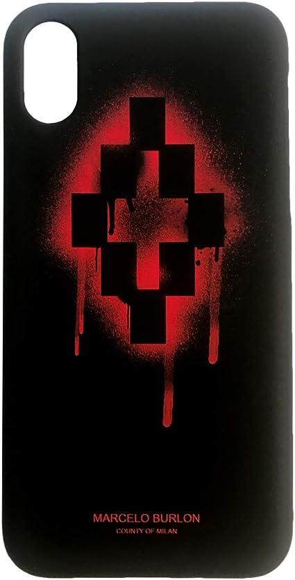 Marcelo Burlon Cover iPhone XS Max - RedCross