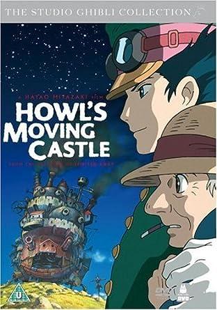Amazon Co Jp ハウルの動く城 スタジオジブリ 英語版 Dvd Import Dvd ブルーレイ