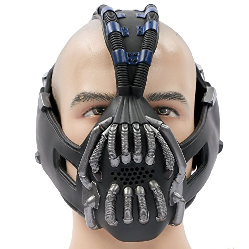 Bane Mask Costume Batman TDKR Full Adult Size - New V2 version (Full Batman Costume)