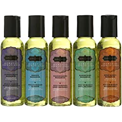 Kama Sutra Massage Oils, (2 Oz) 59 ml Set of Five