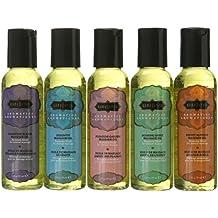 Kama Sutra Massage Oils, (2 Oz) 59 ml Set of Five
