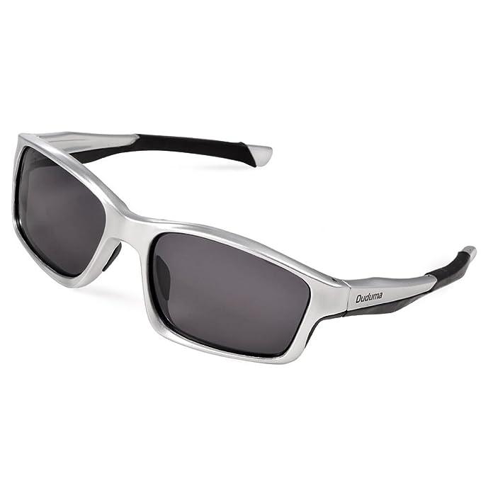 Duduma Gafas de Sol Deportivas Polarizadas Para Hombre Perfectas Para Esquiar Golf Correr Ciclismo TR603 Súper Liviana Para Hombre y Para Mujer ...