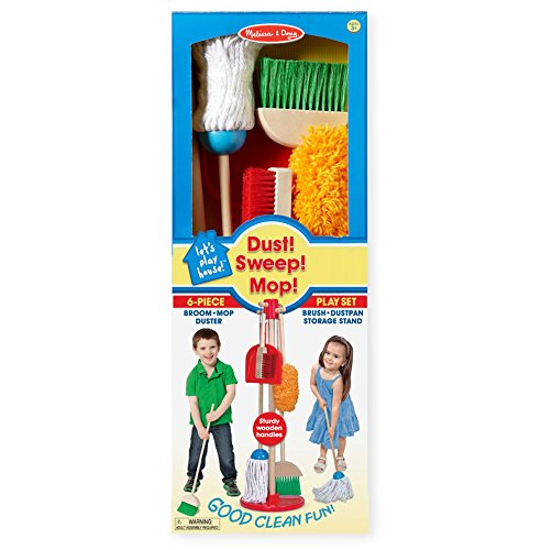 Melissa-Doug-Lets-Play-House-Dust-Sweep-Mop-6-Piece-Pretend-Play-Set