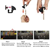 Mobile Controller for PUBG- Sensitive Shoot and Aim Triggers for PUBG/Knives Out/Rules of Survival - L1R1 Phone Game Trigger Joystick & Gamepad for Android iPhone (S2)