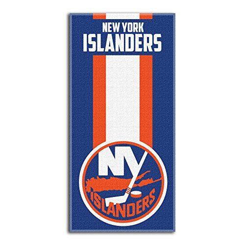 The Northwest Company Officially Licensed NHL New York Islanders Zone Read Beach Towel, 30