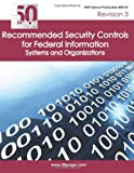 NIST Special Publication 800-53 Revision 3 Recommended Security Controls for Federal Information Systems and Organizations, Nist, 1470100363