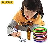 3D Pen Filament Refills - BONUS 100 STENCILS