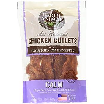 Amazon.com : Earth Animal Calm USA Chicken Jerky Dog