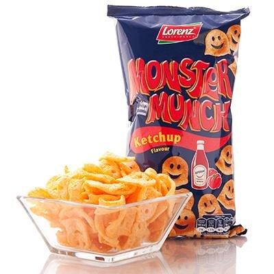 Lorenz Monster Munch Ketchup Potato Snack 75g (2.6oz)