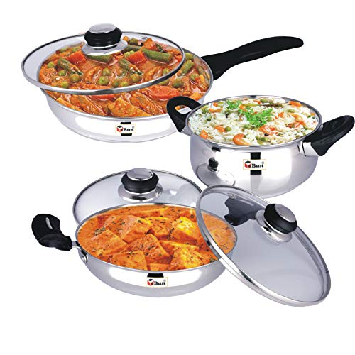 Ebun-Cooking-Set-for-Kitchen-Stainless-Steel-Induction-Base-Medium-Size-Kitchen-Set-for-Home-Cooking-Combo-of-Kadai-Frying-Pan-and-Cooking-Pot-with-Glass-lid