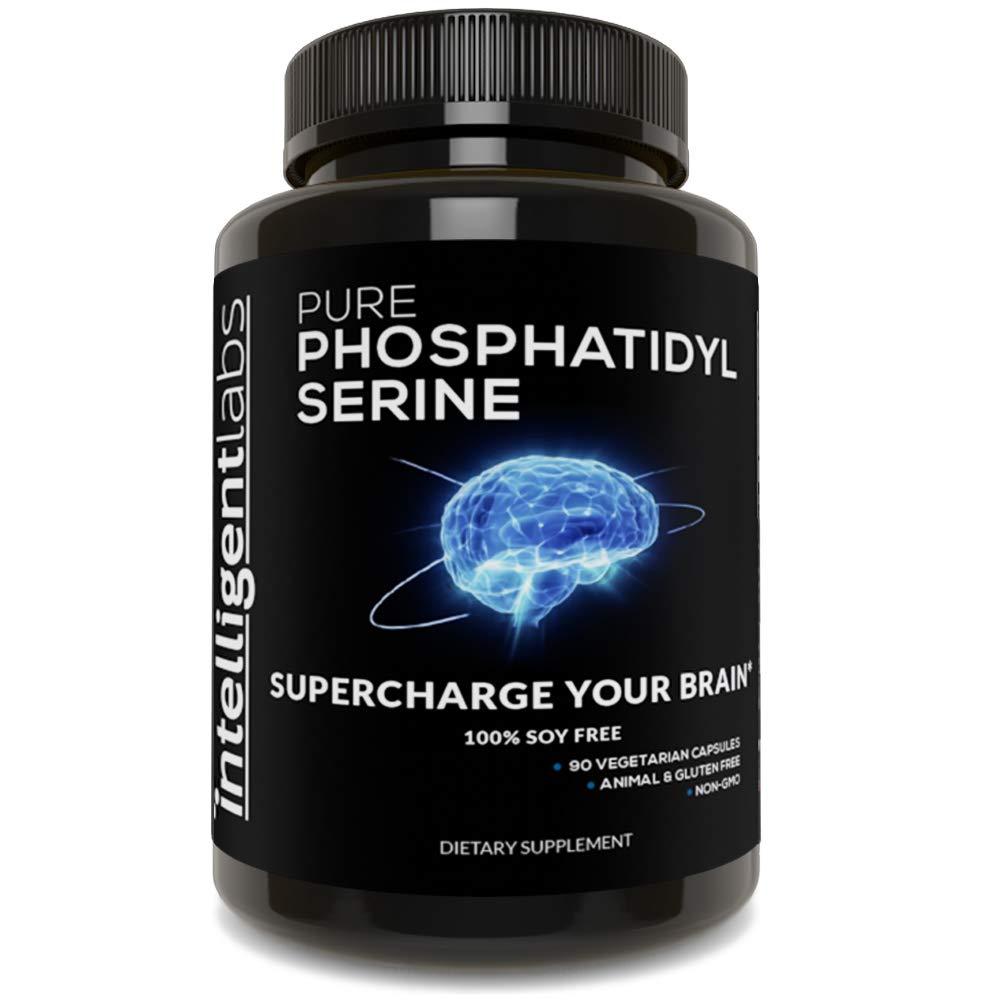 ☆ Fosfatidilserina 100 mg ☆ 100% sin soja - La mejor fosfatidilserina pura ☆: Amazon.es: Salud y cuidado personal