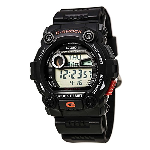 G Shock Watches For Men Scuba Diving. Casio Men's G7900-1 G-Shock Rescue Digital Sport Black Resin Watch