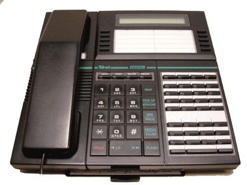 Telrad 79-100-0000/3 Black 36-Button Executive Display Phone -