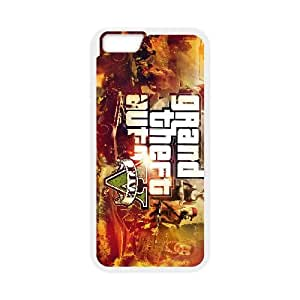 iPhone 6 Plus 5.5 Inch Cell Phone Case White Grand Theft Auto V 007 Iforo