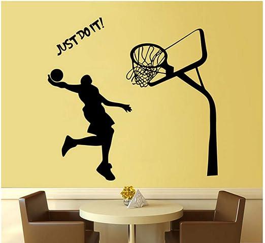 3D Baloncesto Pegatinas de Pared Decoración para El Hogar Sala de ...