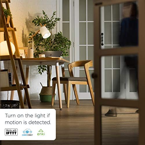 WiZ Colors WiFi connected smart LED A-type E26 bulb  Dimmable, 64,000  shades of white, 16 million colors  Compatible with Alexa and Google Home