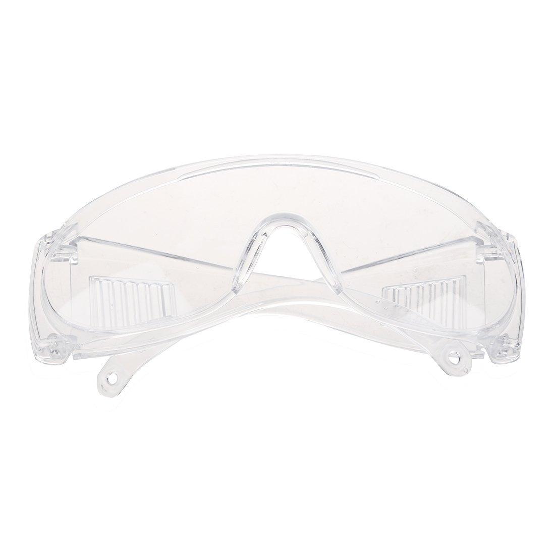 SODIAL(R) Lunettes protectrices transparentes en plastique pour l'atelier
