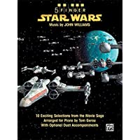 Star Wars: 10 Exciting Selections from the Movie Saga Arranged for Piano with Optional Duet Accompaniments