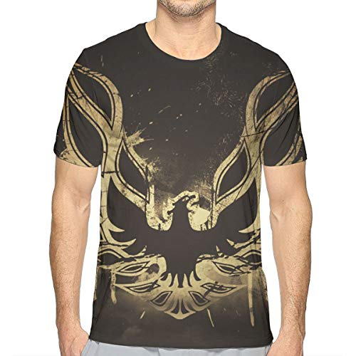 Pontiac Trans Am Firebird S Mens Short Sleeve 3D Print Tee Shirts 3D Top T-Shirt