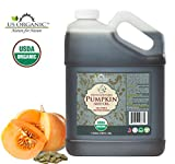 US Organic Pumpkin Seed Oil Bulk pack, USDA Certified Organic,100% Pure & Natural, Cold Pressed Virgin, Unrefined (128 oz (1 Gallon))