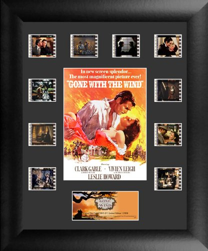Gone With The Wind (S1) Mini Montage Framed and Matted Genuine Film Cell USFC5013