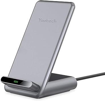 yootech Chargeur à Induction avec Ventilateur, 10W Chargeur