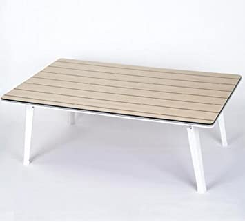 bbslt moda de plegado mesa de ordenador portátil, cama con impermeables pequeñas mesas, mesa plegable individual Dortoir, B: Amazon.es: Hogar