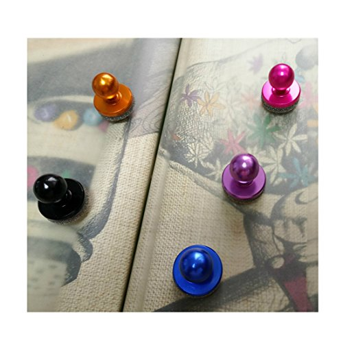 Game Handle, For Android/Apple Mobile Handle,Joystick Soft Sucker Metal Android Apple Mobile Game Rocker Capacitor Screen Game Handle 4PCS Random Color [video (Chelsea Server)