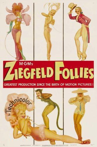USA Fred Astaire Ziegfeld Follies Movie POSTER 27 x 40 C Judy Garland NEW