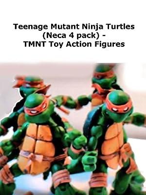 Review: Teenage Mutant Ninja Turtles (Neca 4 pack) - TMNT Toy Action Figures