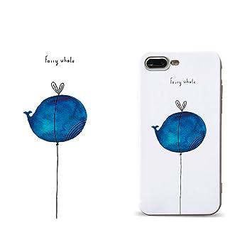 631b3f45d0 iPhone 6s Plus ケース iPhone 6 Plus ケース クジラ 鯨 魚 iPhone6sPlus ケース かわいい おもしろ おしゃれ