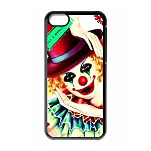 Protection Cover Hard Case Of Clown Cell phone Case For Iphone 5C