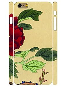 3D Print Unique Ink Rose Flower Design Durable Cell Phone Back Case For Ipod Touch 5 Cover