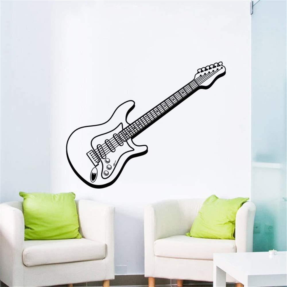 Ajcwhml Música Arte Diseño Etiqueta de La Pared de la Guitarra ...
