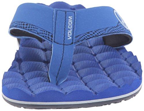 Volcom Hommes Inclinable Sandale Flip Flop Royal