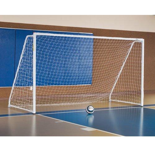 - Alumagoal 6.5' x 12' Indoor Soccer Goal