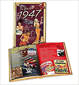 The Year Was 1947 Mini Book: Great Birthday or Anniversary