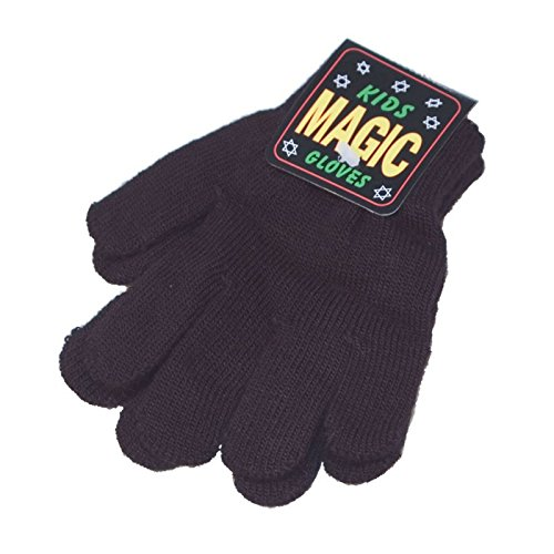 Octave - Kinder - Handschuhe mit Magic Stretch - Schwarz