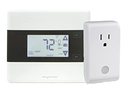 IRIS Z-wave Thermostat (CT101, Improved CT100)  and ZigBee plug SPG800 combo