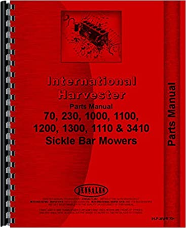 Amazon.com: International Harvester 1110 Manual de piezas de ...