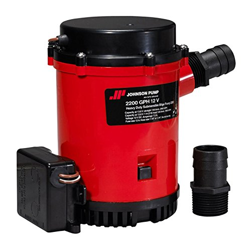 Johnson Pumps 2200 Auto Pump with Ultima Switch, 12V