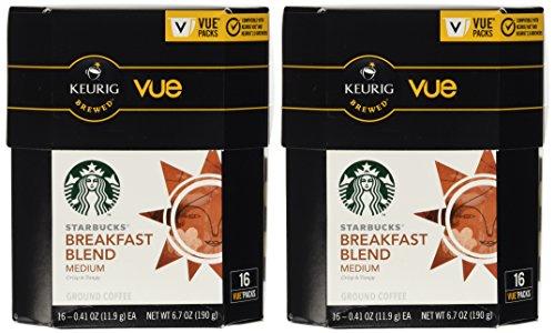 Starbucks Breakfast Blend Coffee for Keurig Vue (Coffee Keurig Cups Starbucks)