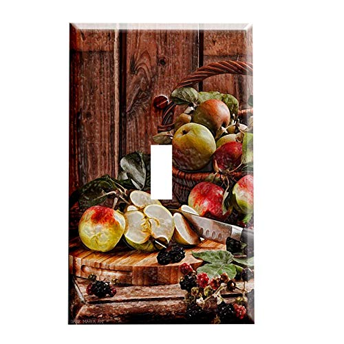 Apple Basket Switchplate - Switch Plate Cover