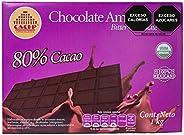 CACEP  Barra Chocolate Orgánico amargo 80% cacao Mexicano  Sin lácteos  Ideal para repostería  Bajo en azúcar