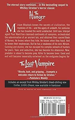 The Last Vampire: A Novel: Whitley Strieber: 9781439173299