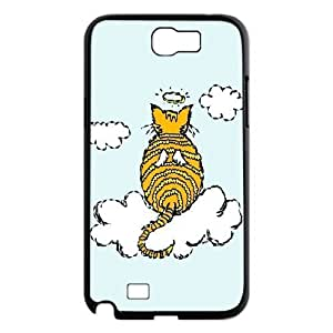 Cute and Lovely Cat Design Unique Customized Hard Case Cover for Samsung Galaxy Note 2 N7100, Cute and Lovely Cat Galaxy Note 2 N7100 Cover Case