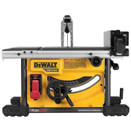 - DEWALT DCS7485B FLEXVOLT 60V MAX Table Saw, 8-1/4